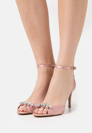 GLEAMY - Sandals - light pink