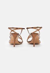 Pura Lopez - Sandalen - mirror bronze - 3
