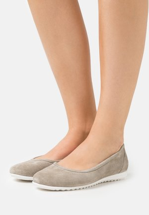 LEATHER COMFORT - Bailarinas - grey