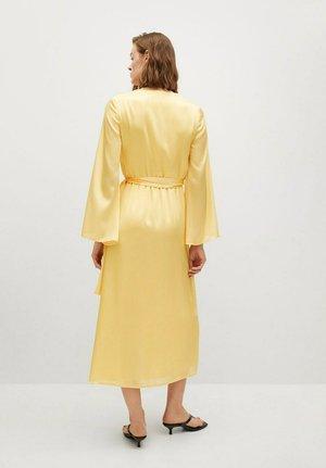 Day dress - pastelowy żółty