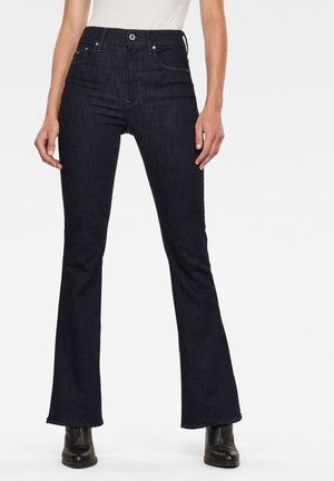 3301 HIGH FLARE - Bootcut jeans - rinsed