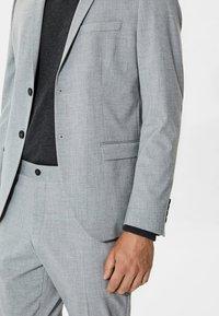Selected Homme - Kavaj - light grey melange - 3