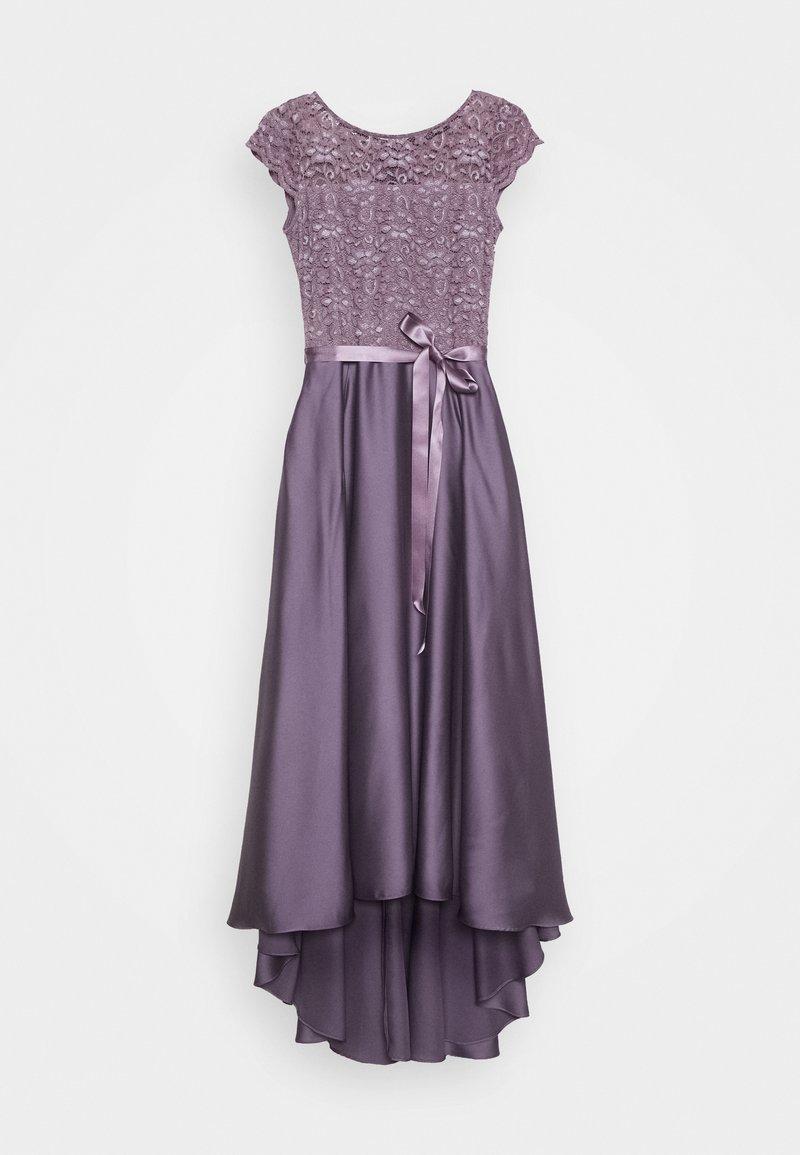 ballkleid - grau/violett