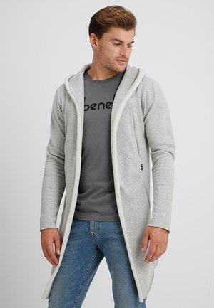 BREKSTAD - Sweater met rits - light grey mix