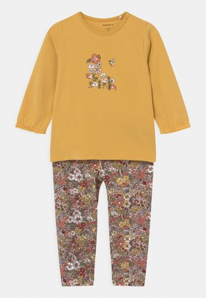 NBFDINA SET - Trousers - ochre