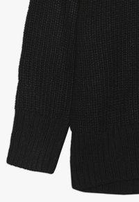New Look 915 Generation - LONGLINE CREW NECK JUMPER  - Maglione - black - 2