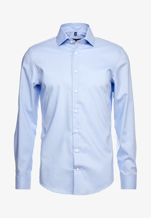 SLIM SPREAD KENT PATCH - Formal shirt - hellblau