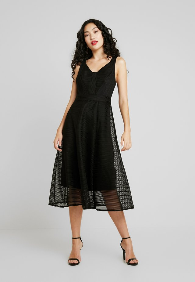 FLEUR DRESS - Cocktail dress / Party dress - black