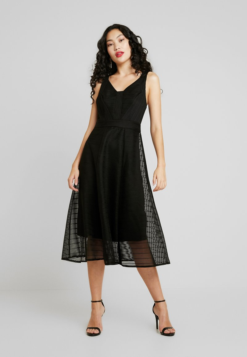TFNC Tall - FLEUR DRESS - Sukienka koktajlowa - black
