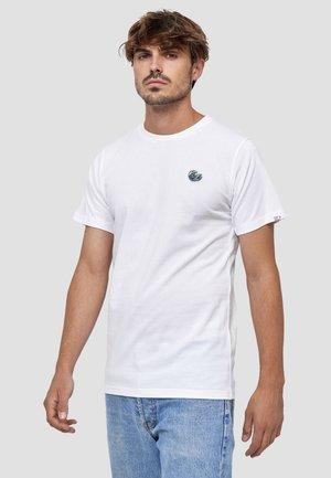 WELLE - T-shirt basic - weiß