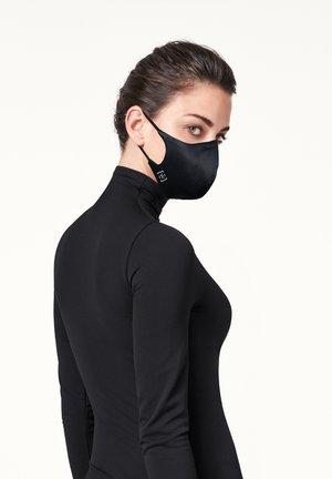 LUXURY SILK MASK UNISEX - Community mask - black