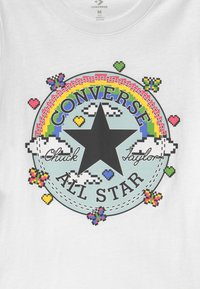 Converse - GAMER GIRL CHUCK PATCH - T-shirt con stampa - white - 2