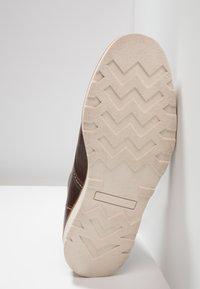 Zign - Lace-up ankle boots - cognac - 4