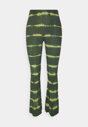 Trousers - vert bouteille