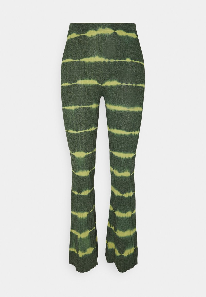 sandro - Trousers - vert bouteille