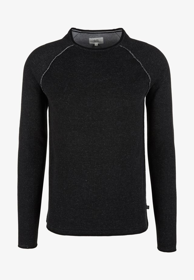Jumper - grey / black