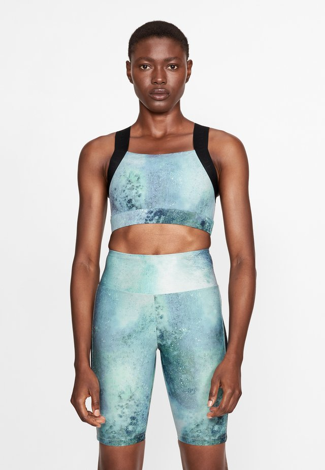 KAY PRINTED - Sports-BH - green space dyed