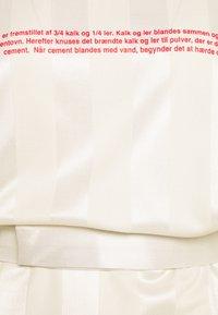 Han Kjøbenhavn - SPORT TEE DRESS - Day dress - off white - 2