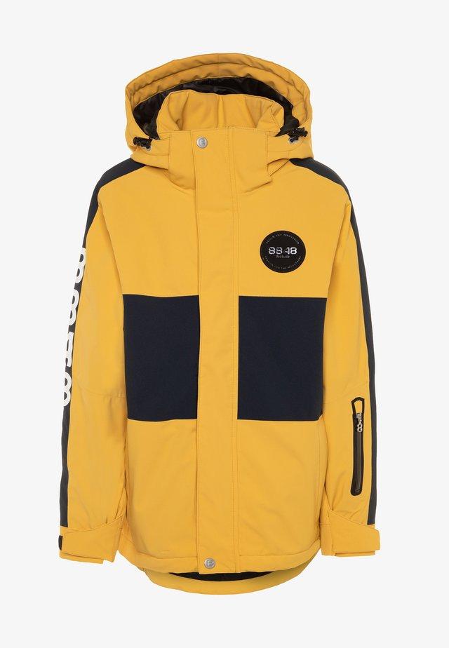 KINGSTON - Ski jacket - mustard