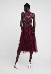Lace & Beads Tall - KUSHI - Juhlamekko - burgundy - 2