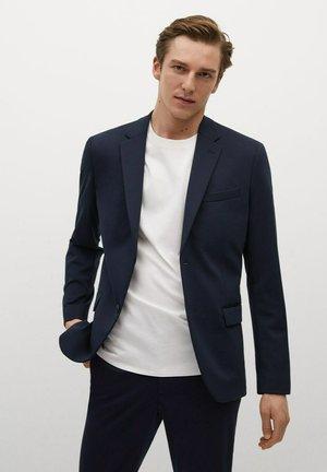 FABRE - Blazer jacket - bleu marine foncé