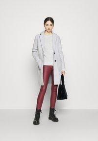 JDY - JDYBONDY - Classic coat - light grey melange - 1