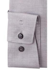 OLYMP - MODERN FIT LANGARM HAIFISCHKRAGEN  - Formal shirt - grau - 2