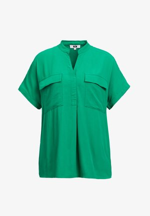 Blouse - bright green