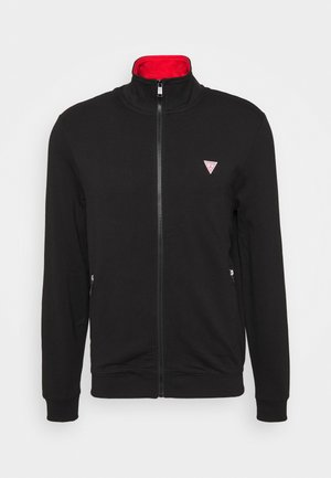 TRUCK - veste en sweat zippée - jet black