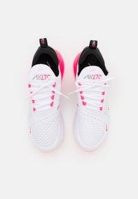 Nike Sportswear - AIR MAX 270 - Matalavartiset tennarit - white/arctic punch/hyper pink/black - 4