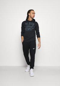 Under Armour - PROJECT ROCK TERRY - Sweatshirt - black - 1