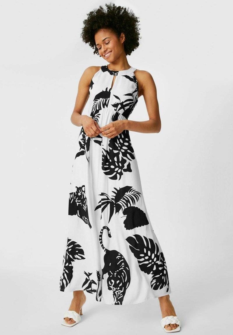 C&A Premium - Jupe - Maxi dress - white / black