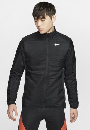 AROLYR - Training jacket - black/grey