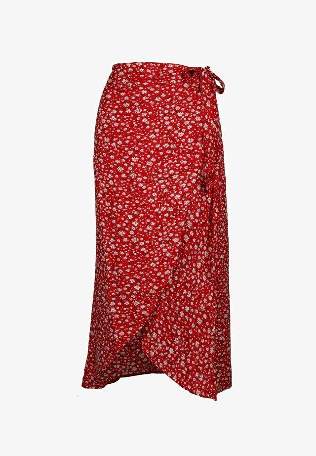 Yvi - A-line skirt - rot