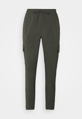 NEVER STOP WEARING PANT  - Pantalon cargo - new taupe green