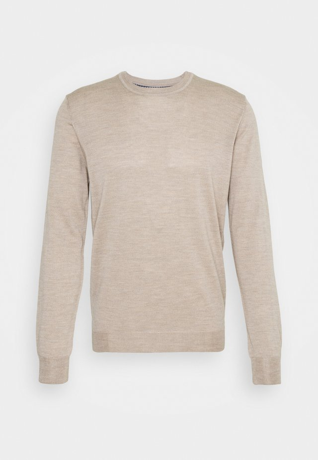 DAVIN - Jumper - light camel