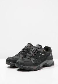 Salomon - EFFECT GTX - Hiking shoes - phantom/black/dawn blue - 1