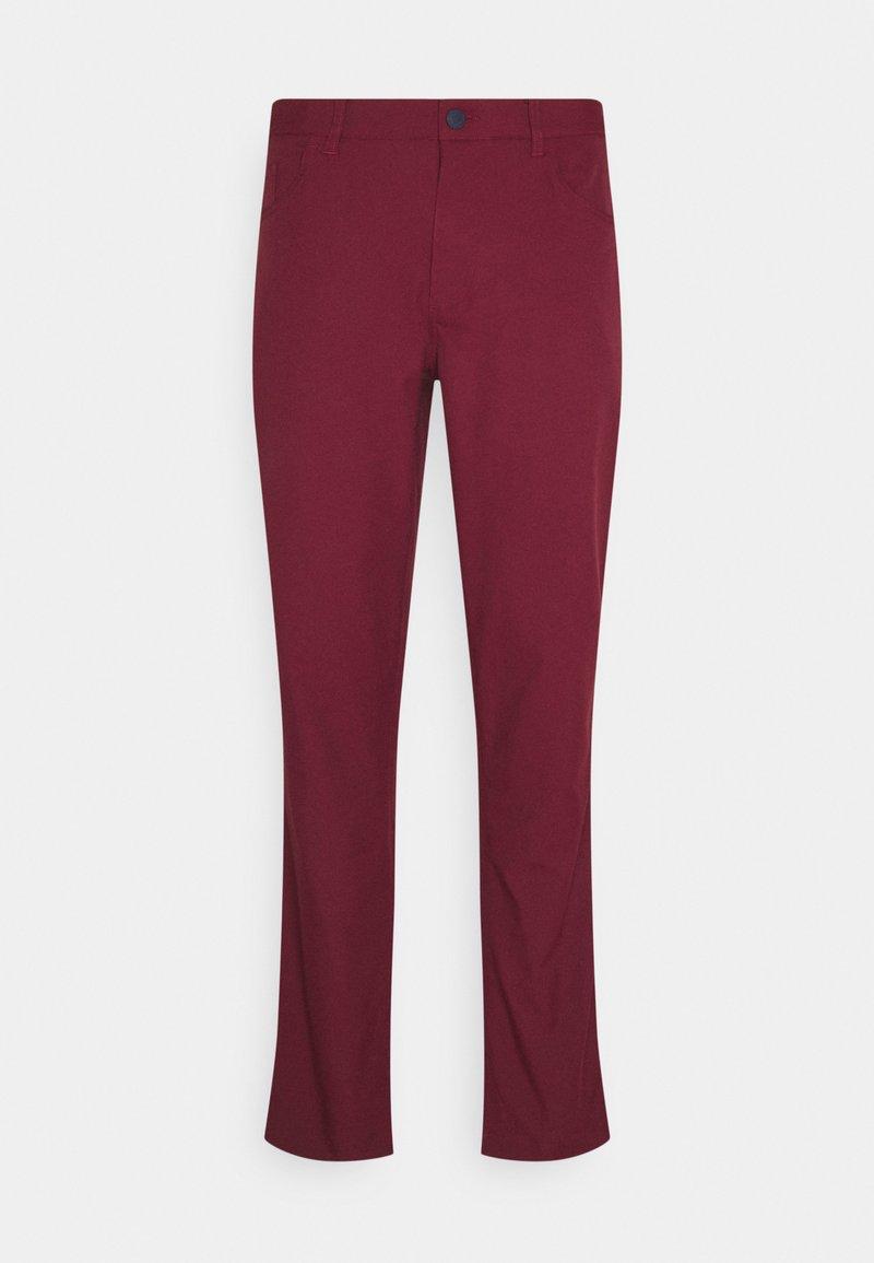 Puma Golf - JACKPOT 5 POCKET PANT - Trousers - zinfandel