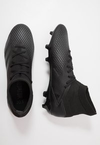 adidas Performance - PREDATOR 20.3 FG - Moulded stud football boots - core black/ solid grey