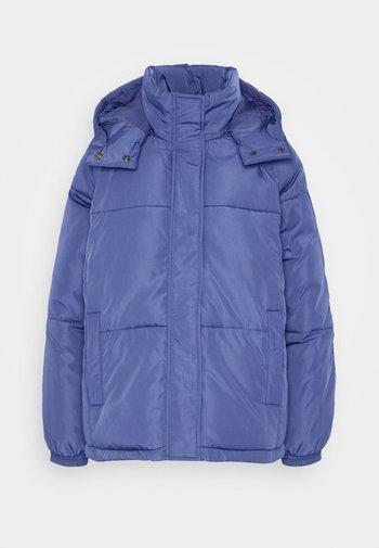 FILINA HOOD JACKET - Light jacket - gray blue