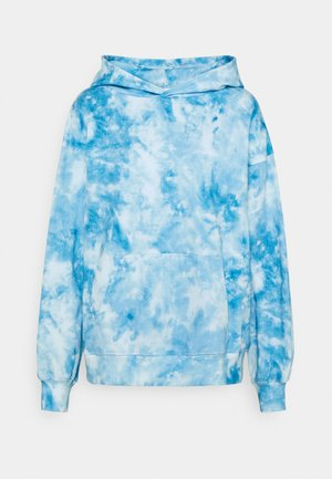 HOODIE SUNDBORN TIE DYE - Jersey con capucha - blue