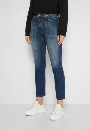 VIOLA - Slim fit jeans - dark blue