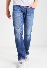 Mustang - OREGON  - Straight leg jeans - light scratched used - 0