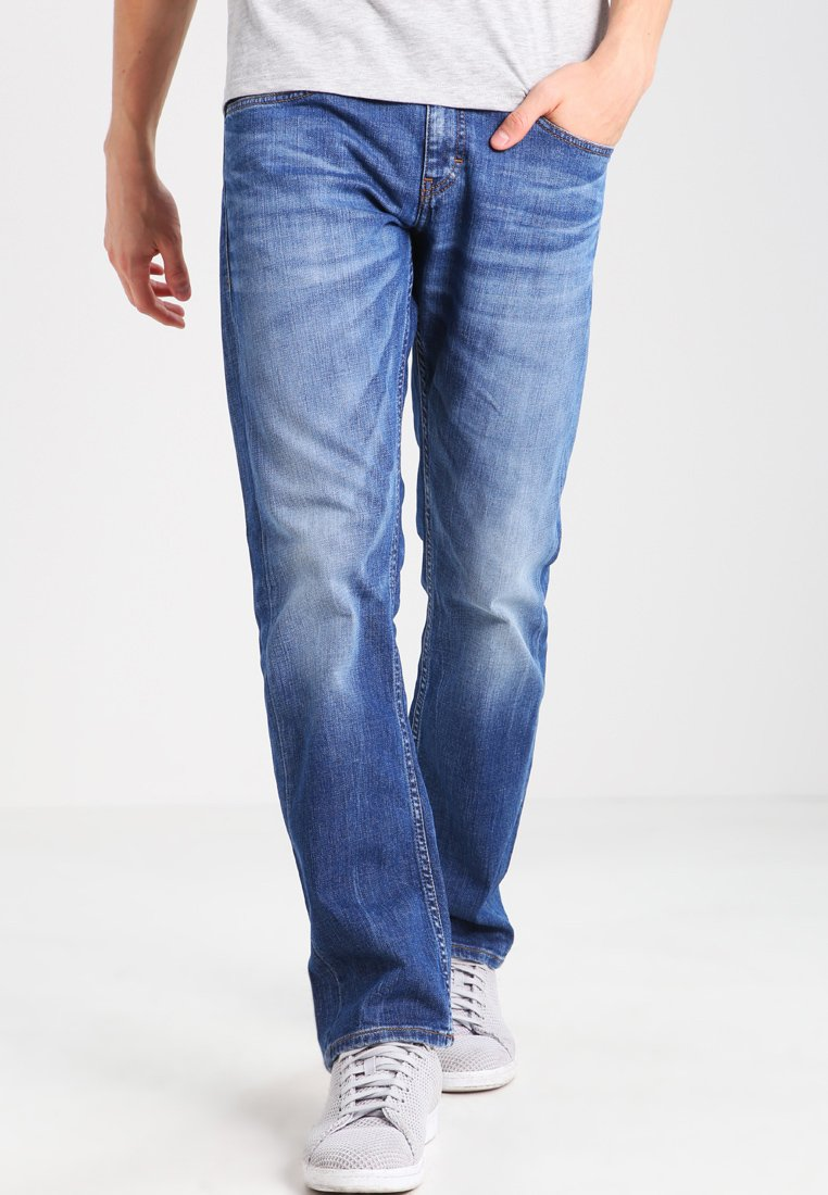 Mustang - OREGON  - Straight leg jeans - light scratched used
