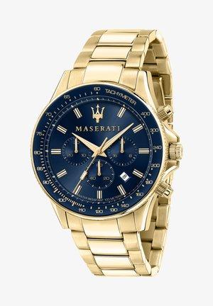 Chronograaf - blau/gold