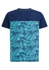 WE Fashion - Print T-shirt - blue - 4