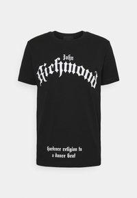 John Richmond - MCENROE - Print T-shirt - black - 4