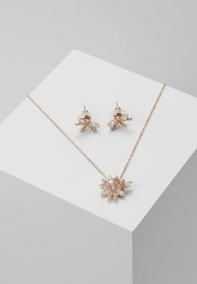 ETERNAL FLOWER FLY SET - Earrings - rose gold-coloured