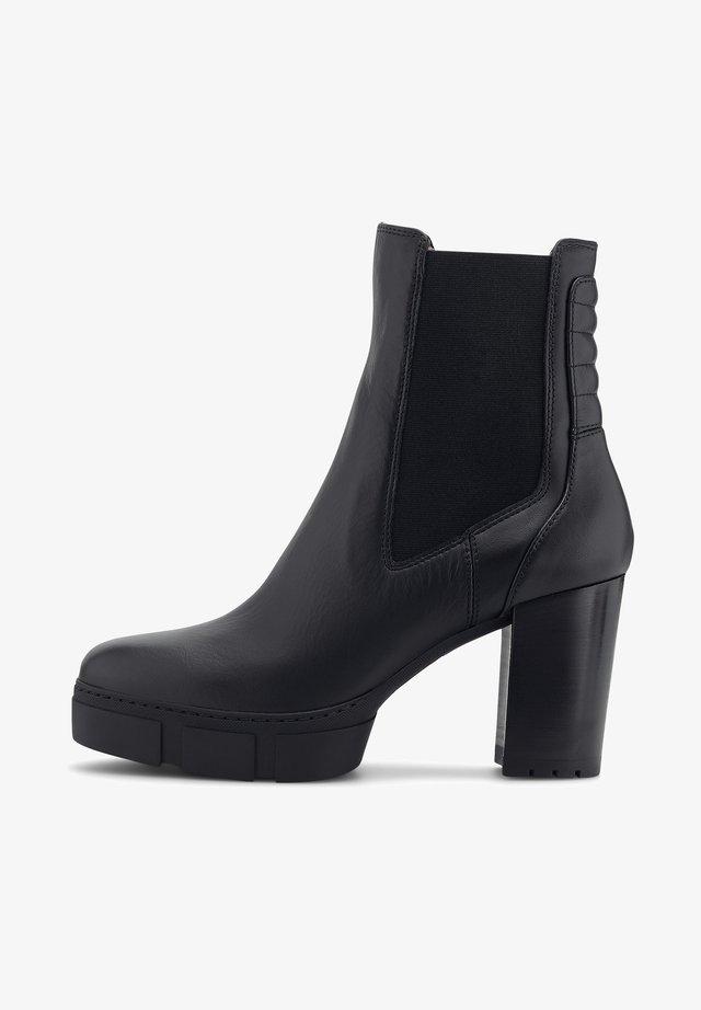 KUBEL - Platform ankle boots - schwarz