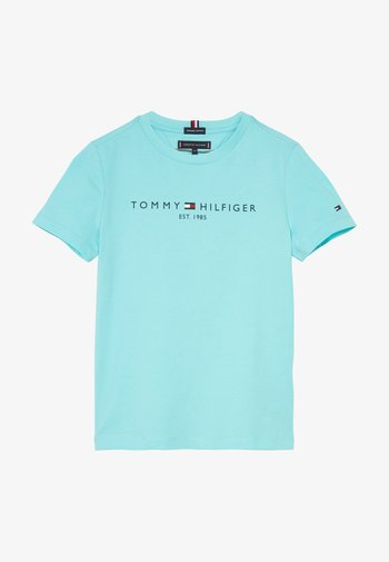 ESSENTIAL LOGO UNISEX - Print T-shirt - blue
